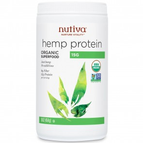 Nutiva Organic Hemp Protein 15g 16 oz