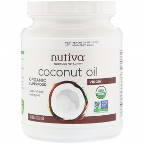 Nutiva Organic Extra Virgin Coconut Oil 54 oz