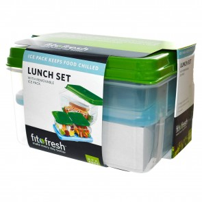 Fit & Fresh Lunch Set, with Removable Ice Pack