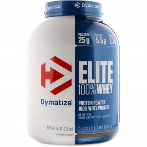 Dymatize Elite 100% Whey Protein Chocolate Cake Batter 5lbs