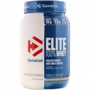 Dymatize Elite 100% Whey Protein Vanilla Cupcake 2lbs