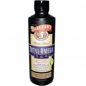 Barlean's Master Blend Total Omega  3.6.9 Lemonade 16 oz