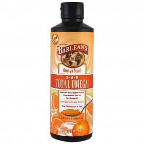 Barlean's Omega Swirl 3.6.9 Total Omega Orange Cream 16 oz