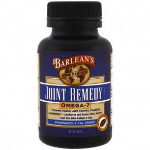 Barlean's Joint Remedy 30 Softgels 516mg
