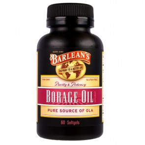 Barlean's Borage Oil 1000 mg 60 count
