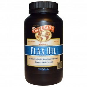 Barlean's Flax Oil 250 Softgels
