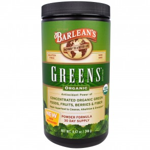 Greens Organic 8.46 oz by Barlean's