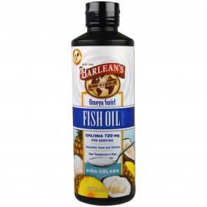 Barlean's Omega Swirl Omega 3 Fish Oil Pina Colada 16 fl oz