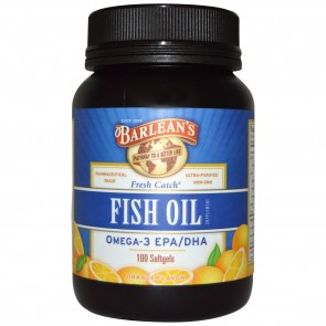 Barlean's Signature Fish Oil 100 Capsules