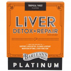 Barlean's Liver Detox + Repair Tropical Twist 6.35 oz