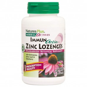 Natures Plus Immune Actin Zinc Lozenges