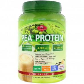 Olympian Labs Pea Protein Vanilla Bean 760 gram jar