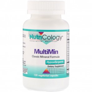 NutriCology MultiMin 120 Vegetarian Caps