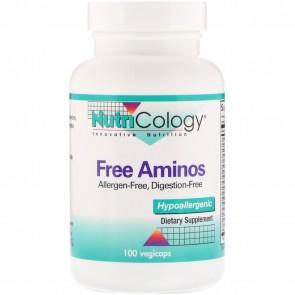NutriCology Free Aminos 100 Vegetarian Caps