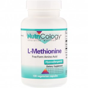 Nutricology L-Methionine 500 Mg 100 Vegetarian Caps