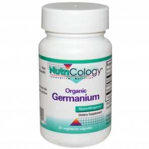 Nutricology- Organic Germanium 50 Vegetarian Capsules