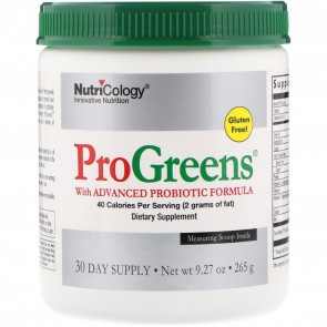 NutriCology ProGreens 30 Day Supply 9.27 oz (265 g)