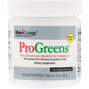 Nutricology ProGreens 10 Day Supply 3 oz. (85 g)