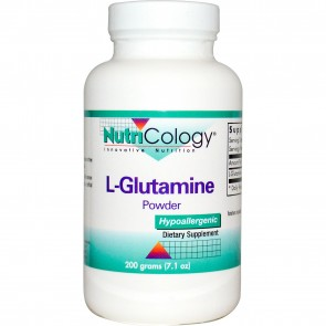 NutriCology L-Glutamine Powder 200 Grams (7.1 oz.)