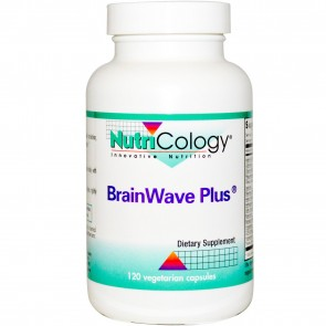 NutriCology BrainWave Plus 120 Vegetarian Capsules