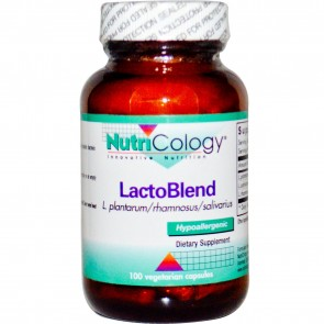 Nuticology LactoBlend 100 Vegetarian Capsules