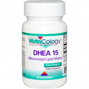 NutriCology DHEA 15 60 Tablets