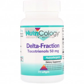 Nutricology Delta-Fraction Tocotrienols 50 mg 75 Softgels