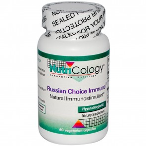 NutriCology Russian Choice Immune 60 Vegetarian Capsules