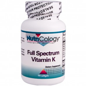 Nutricology Full Spectrum Vitamin K - 90 Softgels