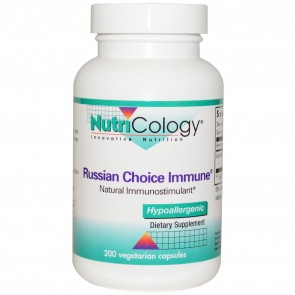 NutriCology Russian Choice Immune 200 Vegetarian Capsules