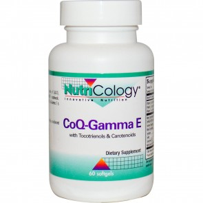 Nutricology CoQ-Gamma E 60 Softgels