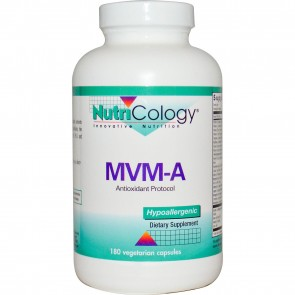 Nutricology MVM-A 180 Vegetarian Capsules