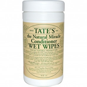 Tate's Natural Miracle Conditioner Wet Wipes 18 oz
