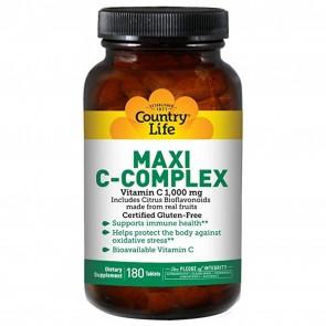 Maxi C Vitamin C 1000mg 180 Tablets