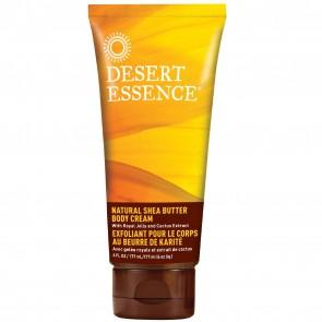 Desert Essence Natural Shea Butter Body Cream 6 fl oz