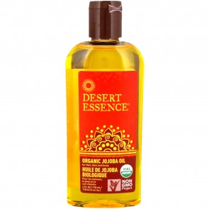Desert Essence Organic Jojoba Oil for Hair, Skin & Scalp - 4 fl oz