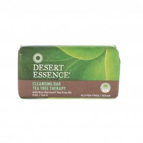 Desert Essence, Cleansing Bar Tea Tree Therapy, 5 oz (142 g)
