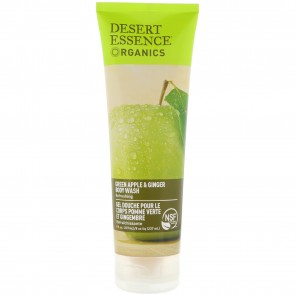 Desert Essence Body Wash Green Apple/Ginger 8 fl oz