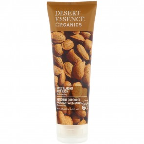 Desert Essence Organics Body Wash Almond 9.4 oz