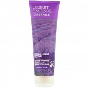Desert Essence Organics Body Wash Bulgarian Lavender 8 oz