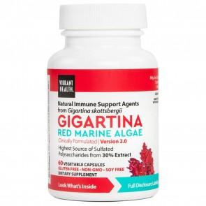 Vibrant Health Gigartina Red Marine Algae 60 Vegetable Capsules