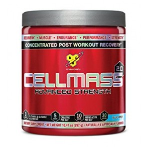 Cellmass Creatine 2.0  10.2 oz Blue Raz  by BSN
