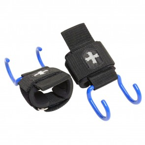 Harbinger Lifting Hooks Black/Blue