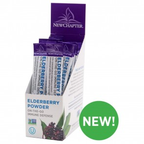 New Chapter Elderberry Powder 15 Servings