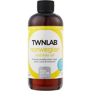 Twinlab Norwegian Cod Liver Oil Unflavored 12 fl oz