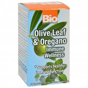 Bio Nutrition Olive Leaf and Oregano Immune Wellness