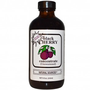 Natural Sources Black Cherry Concentrate Unsweetened 8 oz.