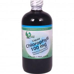 World Organic Liquid Chlorophyll 100 mg 16 fl oz
