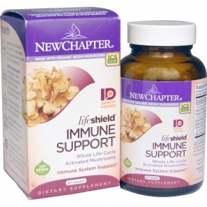 New Chapter LifeShield Immune Support 60 Veggie Capsules