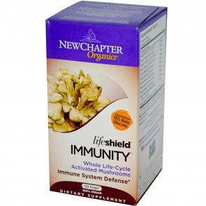 New Chapter LifeShield Immune Support 120 Veggie Capsules